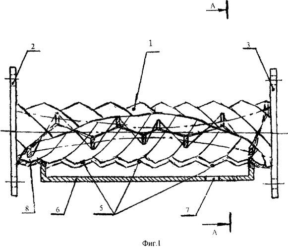 Сепаратор винтовой прямоточный для отделения дисперсных частиц от газа