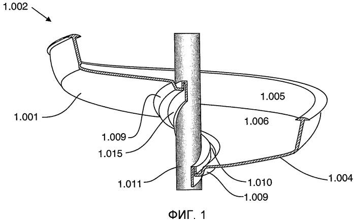 Регулируемый спиральный концентратор и способ его приведения в действие