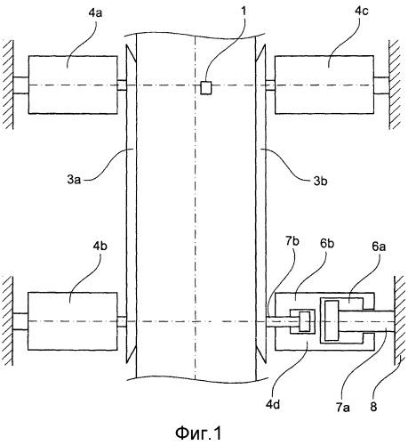 Направляющее устройство для полосопрокатного стана