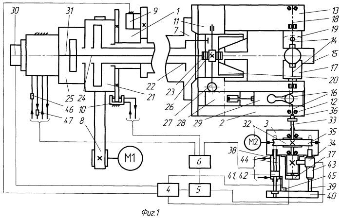Токарный полуавтомат для многосторонней обработки деталей
