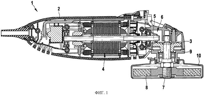 Ручная машина, прежде всего ручная шлифовальная машина