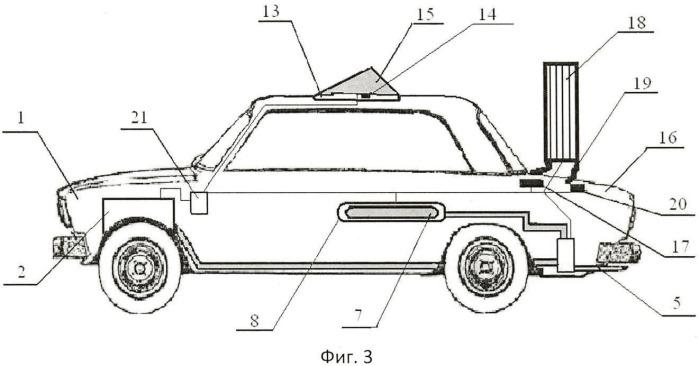 Преобразуемое наземное транспортное средство