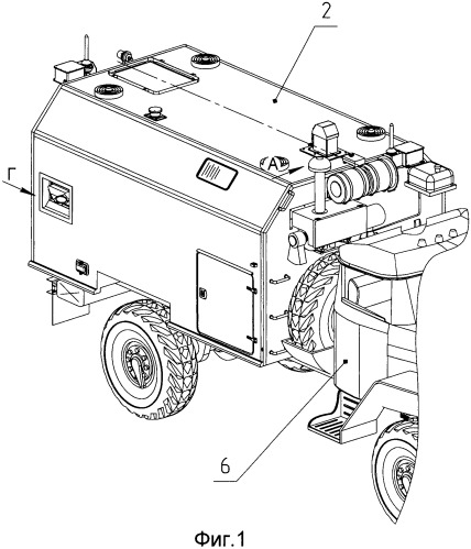 Установочный комплект для крепления оборудования на наружных поверхностях кузова-фургона топопривязчика