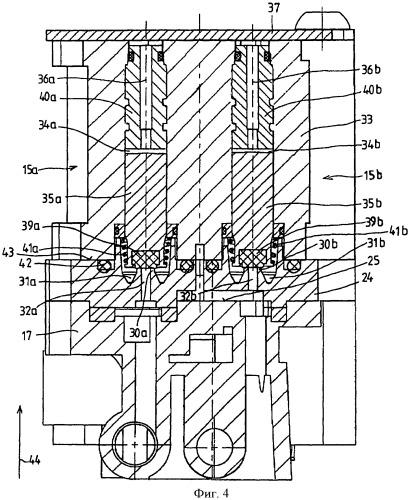 Ограничительный клапан с мембранными клапанами для управления давлением рабочей жидкости в тормозном устройстве антиблокировочной системы транспортного средства с седлом клапана, неразъемно интегрированным в элемент корпуса из полимерного материала