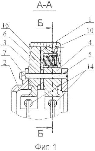 Сдвоенная ручка блока переключателей резервного управления механизацией предкрылков и закрылков крыла самолёта