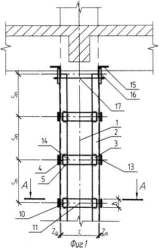 Способ изготовления распорок для усиления колонны здания