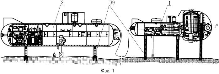 Подводная буровая установка для разработки месторождений углеводородов (нефти и газа) в арктическом шельфе