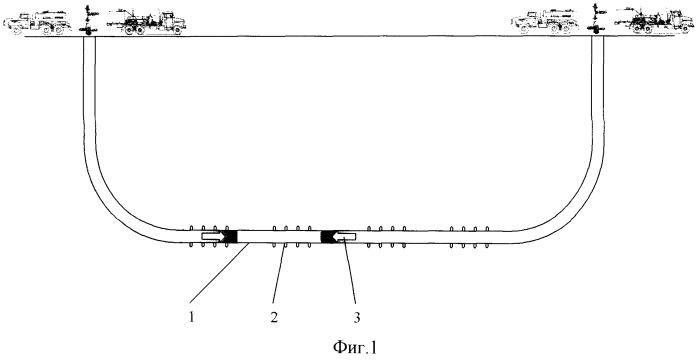 Способ осуществления импульсного гидроразрыва