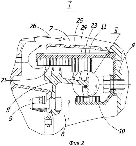 Турбина низкого давления газотурбинного двигателя