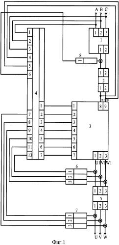 Станция управления погружным электродвигателем