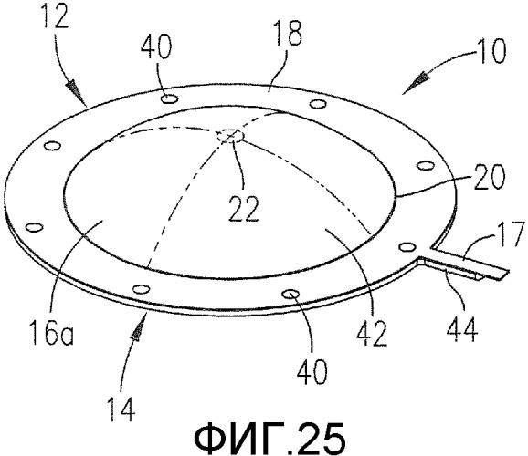 Предохранительный разрывной диск с полученной механической обработкой линией разрыва