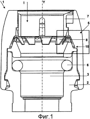 Вставной трубный соединитель с усовершенствованным зажимным узлом