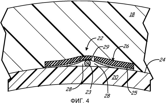 Продольные вентиляционные каналы сосуда высокого давления