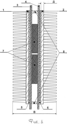 Ячейка энергосберегающего нагревательного элемента