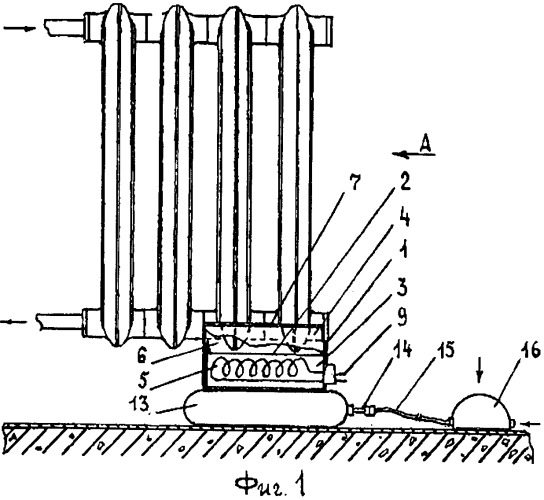 Приспособление для размораживания чугунных радиаторов