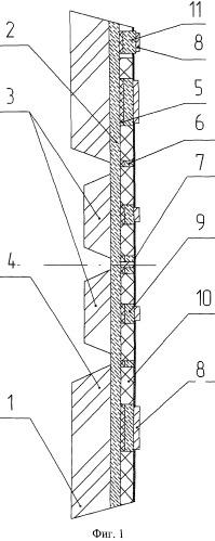 Высокотемпературный полупроводниковый преобразователь давления