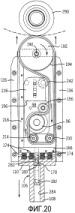 Модульное устройство и способ вращения стеклянных сосудов и подобных изделий