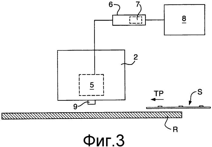Устройство и способ для детектирования толщины листового документа