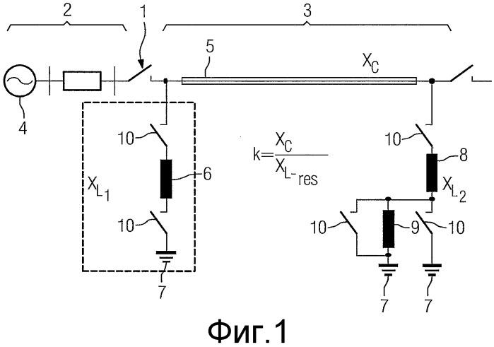 Способ для определения момента времени переключения электрического переключающего прибора
