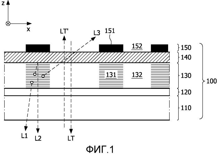 Устройство прозрачного органического светодиода