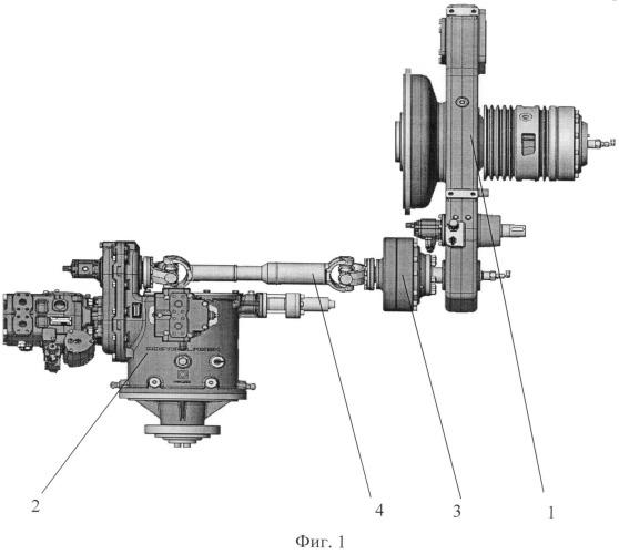Устройство привода ротора зерноуборочного комбайна