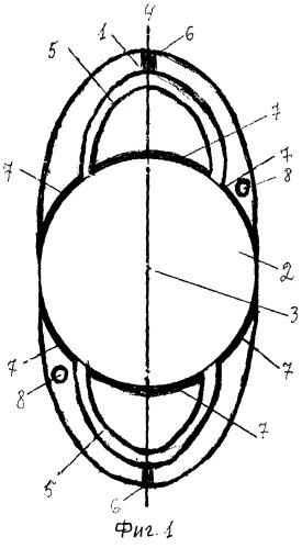 Аккомодирующий искусственный хрусталик глаза