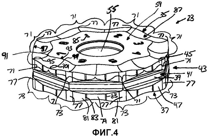 Режущая пластина с углубленной опорной поверхностью пластины и режущий инструмент