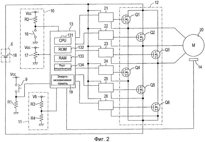 Перезаряжаемый приводной инструмент, блок управления и носитель записи
