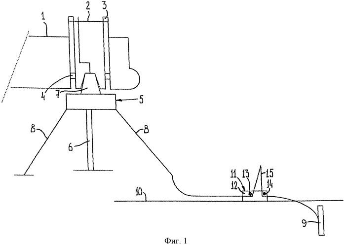 Способ отсоединения буя от судна и устройство для использования в этом способе