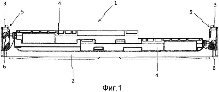 Контейнер со складывающимися друг на друга боковыми стенками
