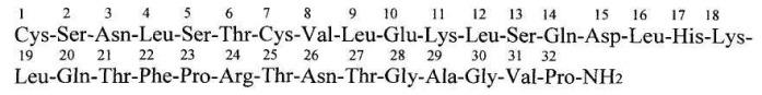 Синтетические пептиды с ненаркотическим типом анальгетического действия