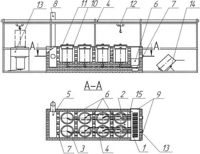Способ и установка для получения древесного угля