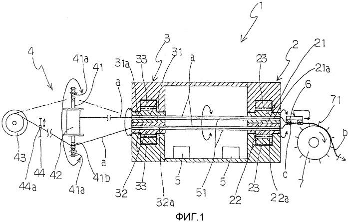 Устройство и машина для изготовления пластиковой сети с открытыми ячейками