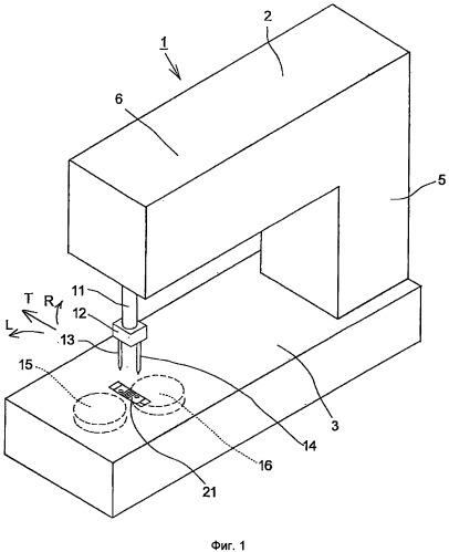 Швейная машина и способы формирования стежка с ее использованием