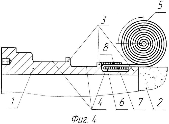Способ формирования узла соединения в оболочках из композиционных материалов