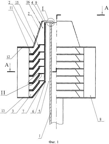 Устройство для усиления тяги дымовых газов или воздуха