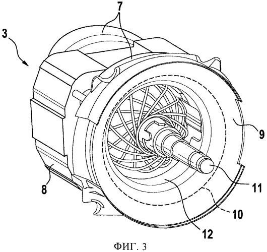 Технологическая машина с приводным электрическим двигателем