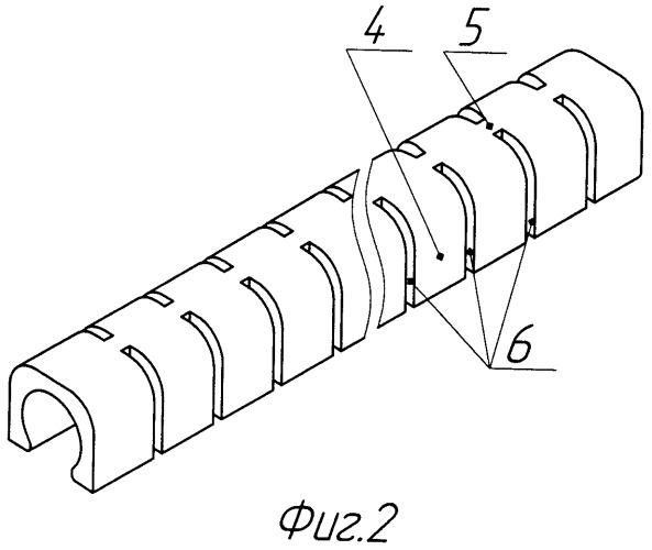 Сегментная изолирующая прокладка пружины (варианты)