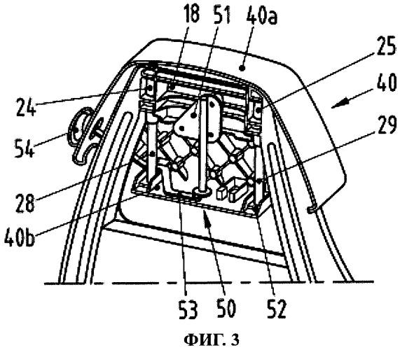 Спинка сиденья автомобиля