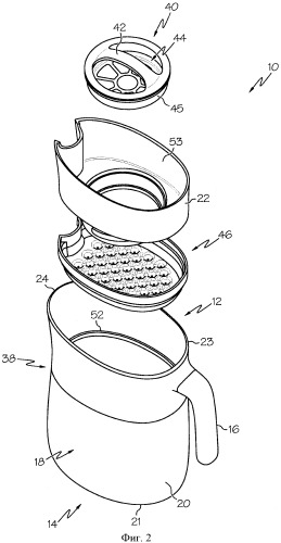 Каплеобразующие устройства для обработки жидкости и способы формирования капель в устройстве для обработки жидкости