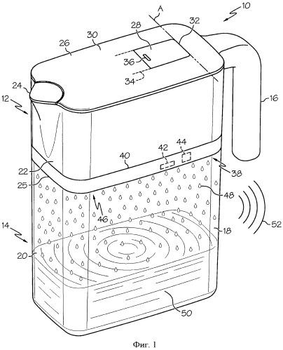 Каплеобразующие устройства для обработки жидкости и способы формирования отфильтрованных капель в устройстве для обработки жидкости
