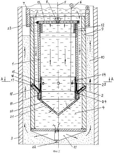 Способ извлечения фильтра из скважины и устройство для его реализации