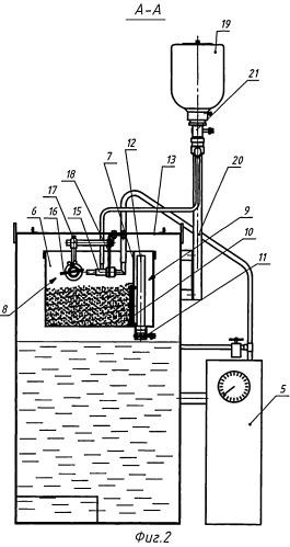 Установка и способ испытания материалов и покрытий на гидроабразивный износ
