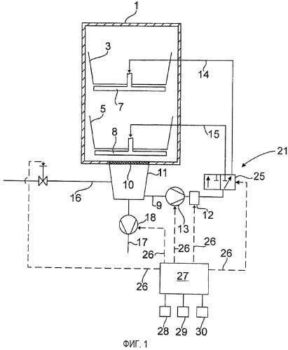 Водопроводящий бытовой прибор, в частности посудомоечная или стиральная машина