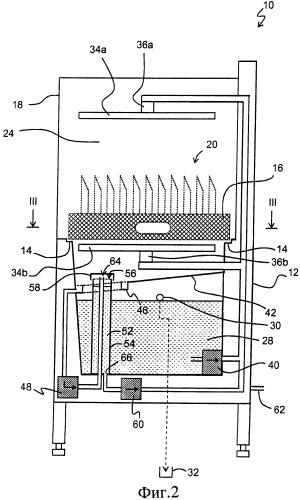 Посудомоечное устройство и способ ополаскивания изделий
