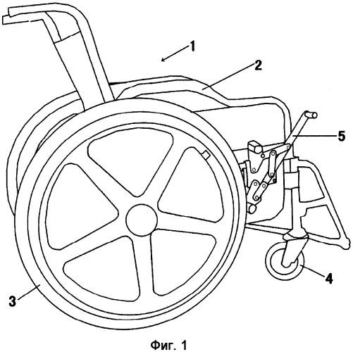 Устройство для безопасного движения инвалидной коляски