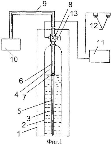 Модуль пожаротушения с дренчерными головками