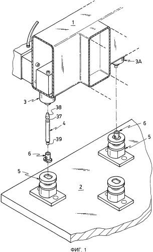 Оборудование для якорного позиционирования при заводском изготовлении панелей из армированного цементного раствора