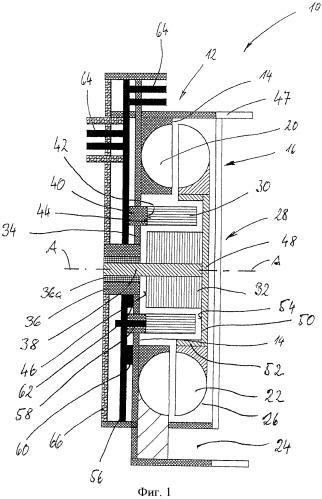 Воздуходувка для отопительного прибора транспортного средства и отопительный прибор транспортного средства