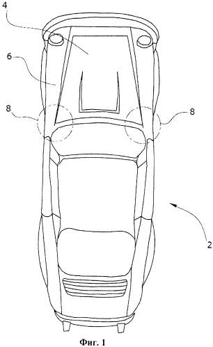 Шарнирное устройство для подвижного соединения крышки транспортного средства с частью кузова транспортного средства